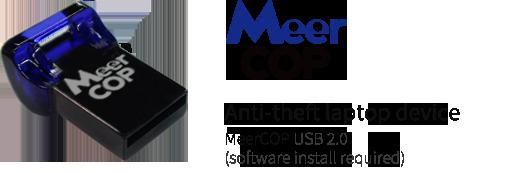 an anti-theft laptop device MeerCOP USB2.0 (프로그램 설치필요)